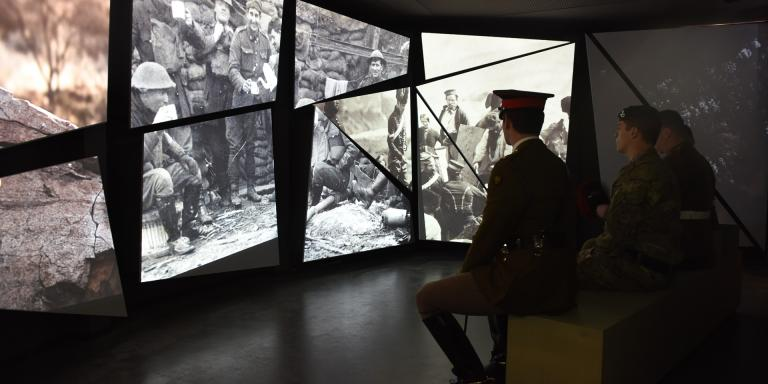 The action theatre in Soldier gallery