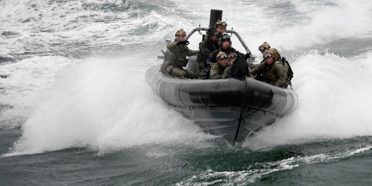 A Special Boat Service Rigid Inflatable Boat, c2010