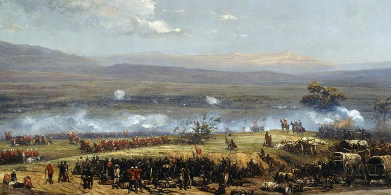 The Battle of Ulundi, 1879