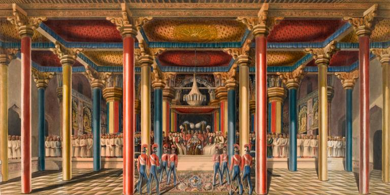 The Tanjore Durbar, Madras, February 1840