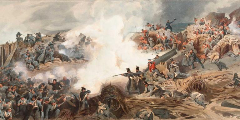 Storming of the Great Redan, 1855