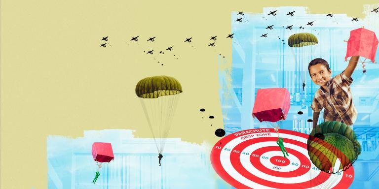 Summer mission: Parachute adventures