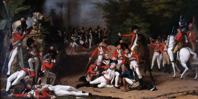 The Death of Colonel Moorehouse, Bangalore, 7 March 1791