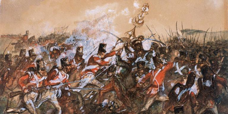 The 88th Regiment of Foot (Connaught Rangers) at the Battle of Salamanca, 1812
