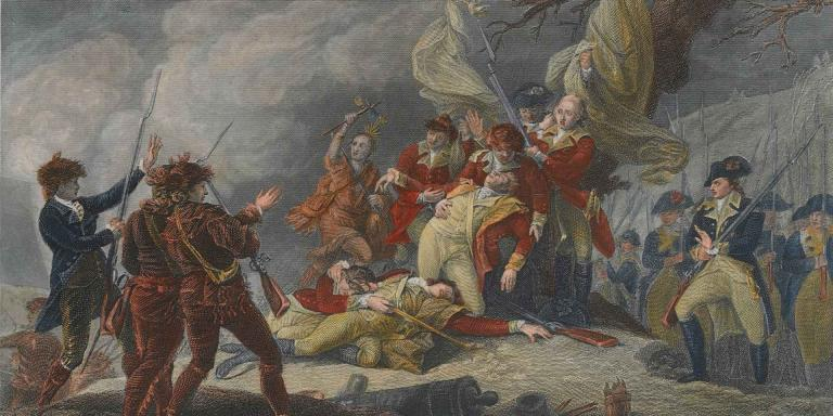 Death of General Montgomery, 1775