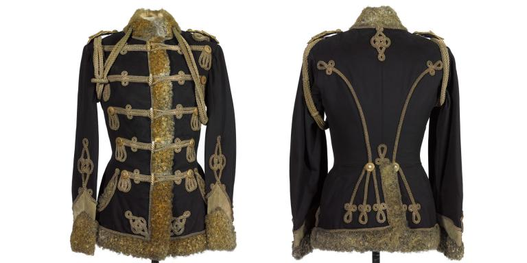 Pelisse, 3rd Zieten Hussars, worn by The Duke of Connaught, 1900s