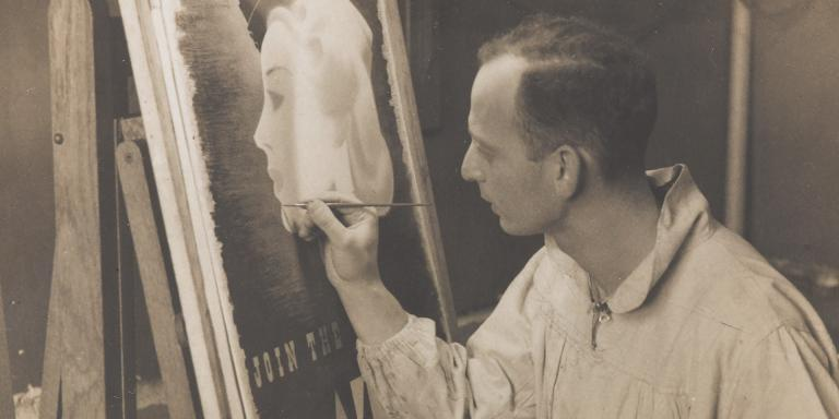 Abram Games in his studio, c1941