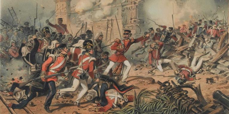 The capture of Delhi, September 1857