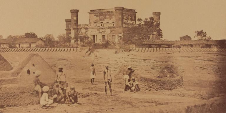 House defended by the 32nd (Cornwall) Regiment at Lucknow, 1858