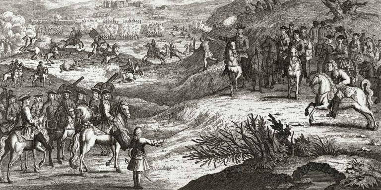 The Battle of Edgehill, 1642