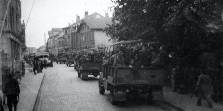 German prisoners of war released to assist with Operation Barleycorn, 1945