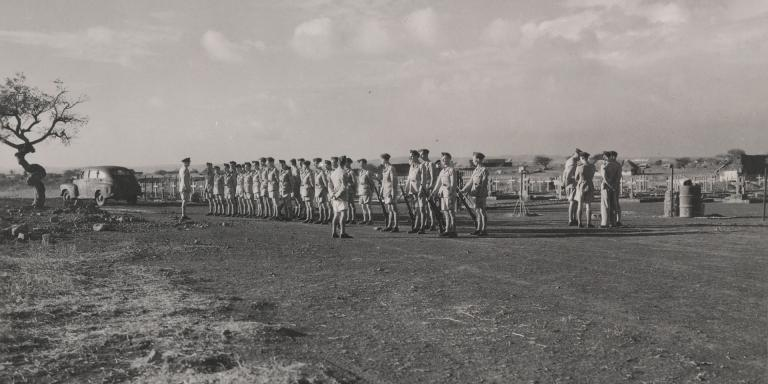 Members of 2nd Battalion The South Lancashire Regiment (Prince of Wales's Volunteers) in India, c1940