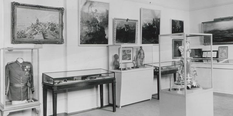 Hastings Room, Victoria Crosses and George Crosses exhibition, 1962